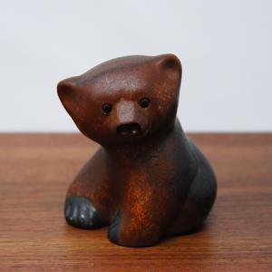 NITTSJO / クマのオブジェ / Thomas Hellstorm / Sweden