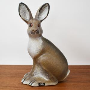 NITTSJO / 親ウサギのオブジェ / Thomas Hellstorm / Sweden