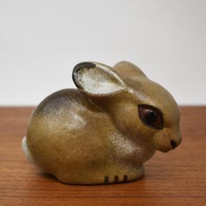 NITTSJO / 子ウサギのオブジェ / Thomas Hellstorm / Sweden