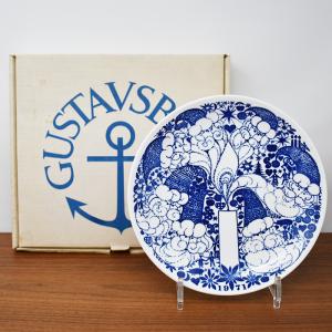 Gustavsberg / 1971クリスマスプレート箱有 / Sven Jonson/ 21.5cm / Sweden