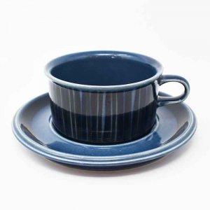 ARABIA / Kosmos Blue / ティーカップ&ソーサー / FINLAND