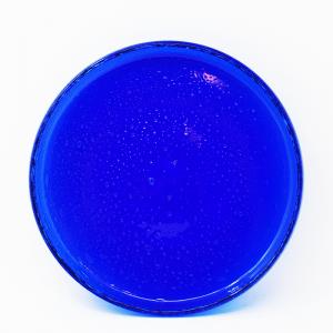 Erik Hoglund / ガラスプレート / ブルー18cm / SWEDEN