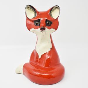 NITTSJO / 赤いキツネのオブジェ / Thomas Hellstorm / Sweden