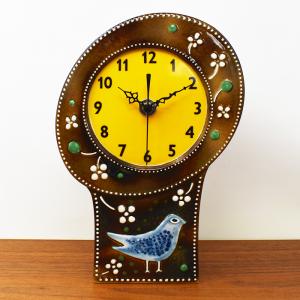 Rorstrand / ATELJE / ハトの壁掛け、置時計ブラウン / Sylvia Leuchovius / Sweden