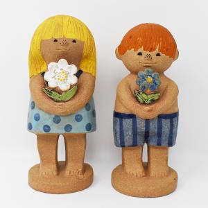 Gustavsverg / Adam och Eva大ペア / Lisa Larson / Sweden