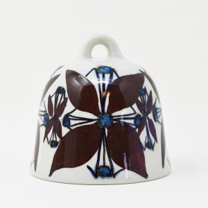 Royal Copenhagen / Tenara / 赤茶色の花のベル / Grete Helland Hansen / DENMARK