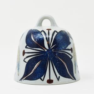 Royal Copenhagen / Tenara / 青い花のベル / Grete Helland Hansen / DENMARK