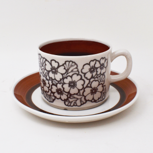 Gefle / Agneta / コーヒーカップ&ソーサー / Sweden