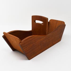 チーク材のナプキンホルダー / Sweden