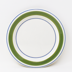 ARABIA / Krokus Green/ デザートプレート17cm / Esteri Tomula / Finland