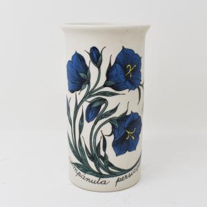 ARABIA / 青い花のフラワーベースH14cm  / Esteri Tomula / FINLAND