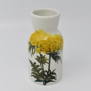 ARABIA / HLA / 黄色い花のフラワーベースH12.5cm  / Hilkka-Lisa Ahola / FINLAND