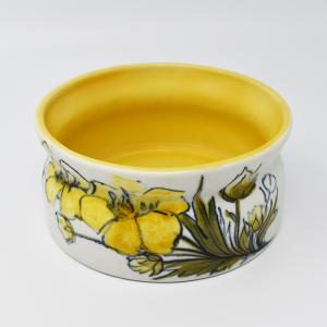 ARABIA / HLA / 黄色い花のフラワーベースW13.5cm  / Hilkka-Lisa Ahola / FINLAND