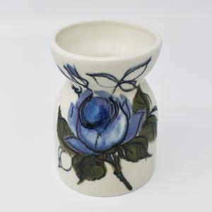 ARABIA / HLA / 青い花のフラワーベースH10.5cm  / Hilkka-Lisa Ahola / FINLAND