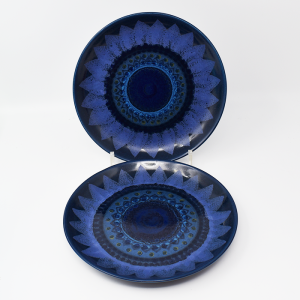 ARABIA / HLA / 青い花のプレート19.5cm  / Hilkka-Lisa Ahola / FINLAND