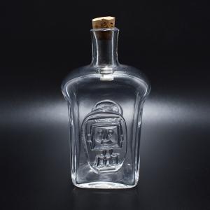 BODA / 人の顔のボトル / クリア /  Erik Hoglund / Sweden