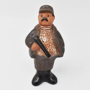 NITTSJO / 銃を持った猟師 / Rolf berg / Sweden