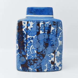 Royal Copenhagen  / 水色のフラワーベース / Johanne Gerber / DENMARK