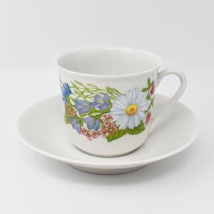Rorstrand / mid sommar / コーヒーカップ&ソーサー / Margaretha Liljeskold / Sweden