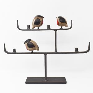 NITTSJO / 小鳥たちのキャンドルスタンド / Thomas Hellstorm / Sweden