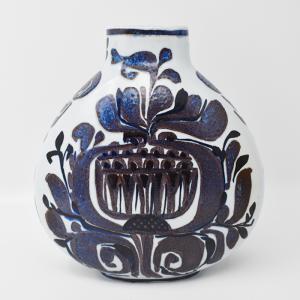 Royal copenhagen / Tenera(ロイヤルコペンハーゲン/テネラ)青いフラワーベース