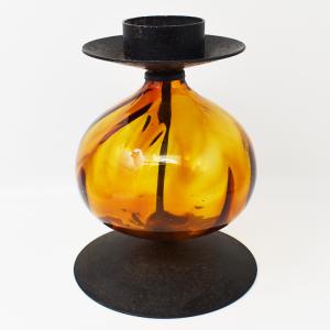 Erik Hoglund / candle stand brown XL(エリック・ホグラン/キャンドルスタンド・ブラウンXL) H18.5cm