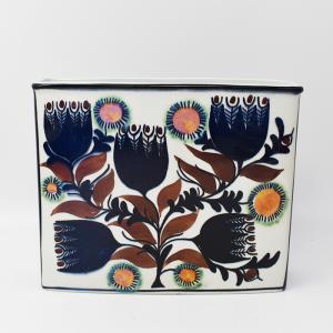 Royal copenhagen / Tenera(ロイヤルコペンハーゲン/テネラ)青い花のスクウェアベース