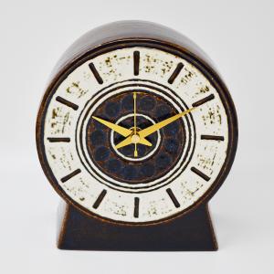 Gustavsberg / Britt Louise Sundell / (グスタフスベリ)茶色い置時計