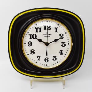 Junghans / 黄色いラインの壁掛け時計
