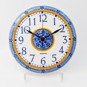 Rorstrand / WESTERSTRAND / 黄色と青の壁掛け時計 / Sweden