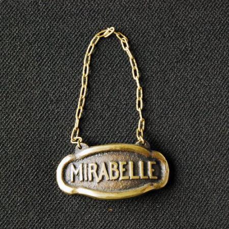 ボトルタグ / MIRABELLE / ミラベル / France