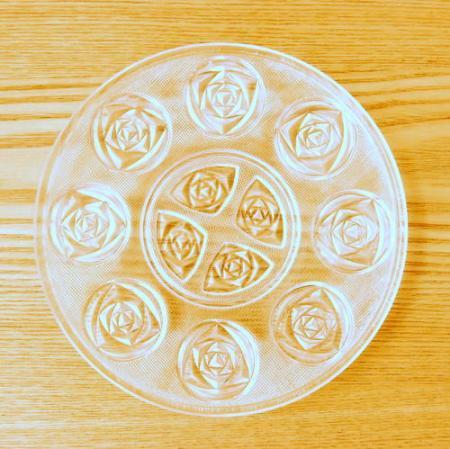 ローズガラス / ミニプレート / 16.5cm / Austria