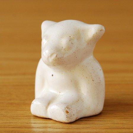 L.Hjorth / 白クマのオブジェ / Denmark