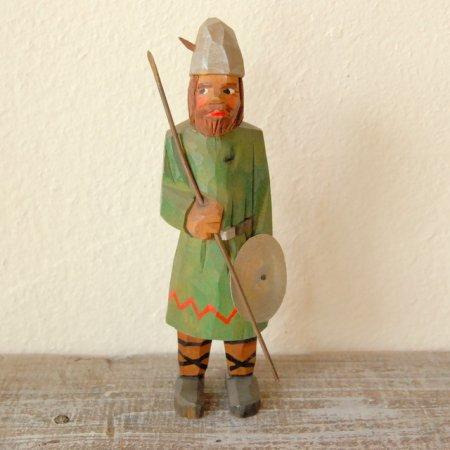 バイキング / 木彫人形 / Denmark