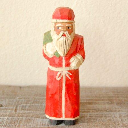 サンタクロース / 木彫人形 / Denmark