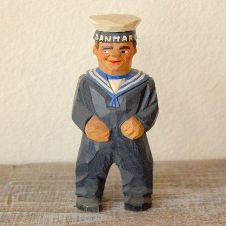水兵さん / 木彫人形 / Denmark