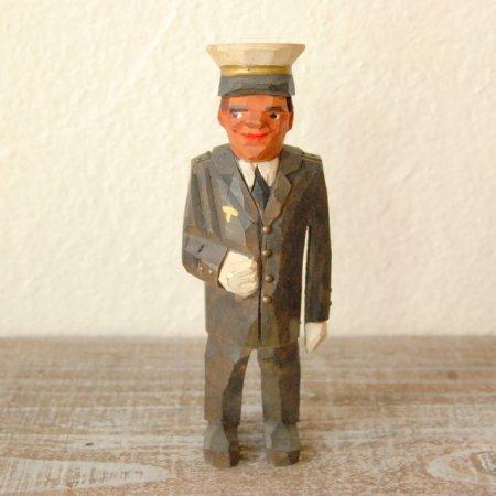 船長さん / 木彫人形 / Denmark
