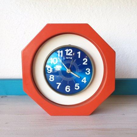 ゼンマイ式置時計 / RITZ / Italy
