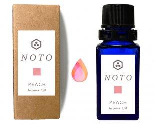 NOTO ピーチフレグランスオイル PEACH OIL(10ml)桃のアロマオイル