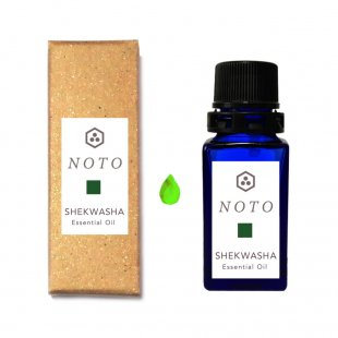 NOTO 沖縄県産シークワーサー 天然精油アロマオイル SHEKWASHA ESSENTIAL OIL(5ml)アロマギフト