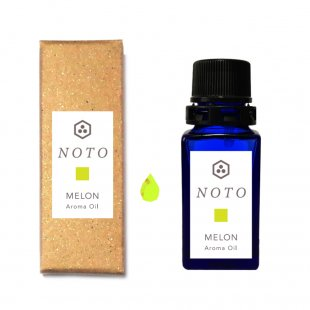 NOTO メロンアロマオイル10ml MELON OIL メロンの芳醇な香りを再現 グリーンフルーティ