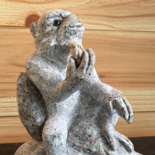 リアル猿� インテリア石置物  160×130×90【H×W×D(mm)】