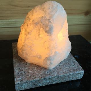 水晶明かり(白)140×130×130 【H×W×D(mm)】