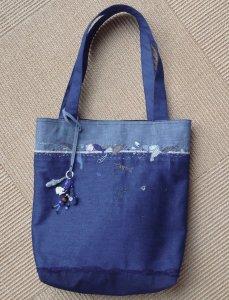 「海洋プラスチックを愁う」バッグ