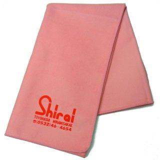 Shirai Music ( シライミュージック ) シライミュージックオリジナル 楽器お手入れクロス クリーンラスターハイクロス ローズ<br>【追跡可能メール便 送料無料】