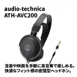 audio-technica (オーディオテクニカ) ヘッドホン ATH-AVC200
