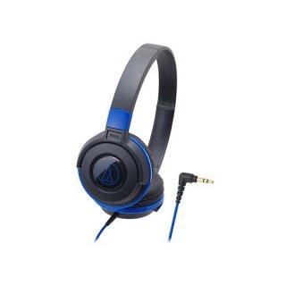audio-technica (オーディオテクニカ) ヘッドホン ATH-S100 BBL (ブラックブルー)