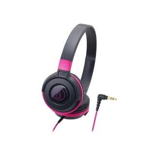 audio-technica (オーディオテクニカ) ヘッドホン ATH-S100 BPK (ブラックピンク)