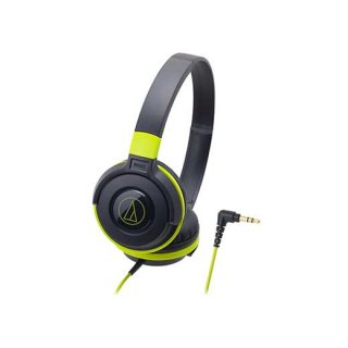 audio-technica (オーディオテクニカ) ヘッドホン ATH-S100 BGR (ブラックグリーン)