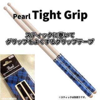 Pearl (パール) グリップテープ タイトグリップ ブルー タータンチェックデザイン【2ペア分】Tight Grip TG-1-TB<br>【追跡可能メール便 送料無料】
